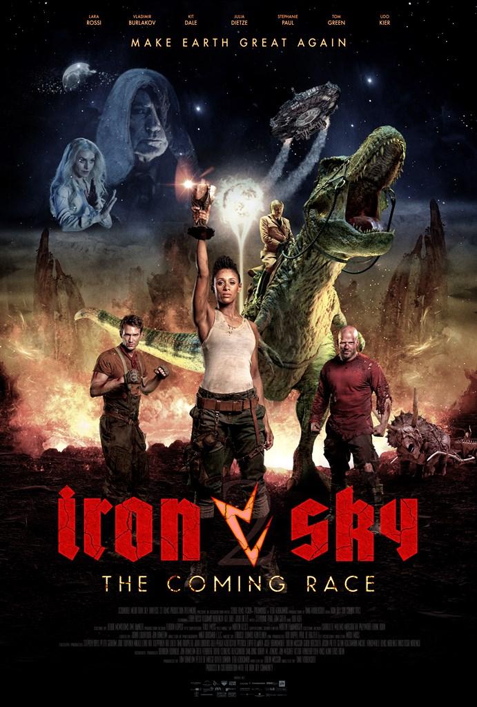 Resultado de imagem para iron sky the coming race Timo Vuorensola poster